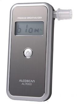 Alcoscan AL-7000 Digitale Alcohol Tester