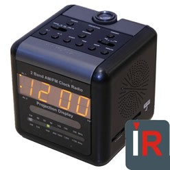 Spy Camera Alarm Clock Radio
