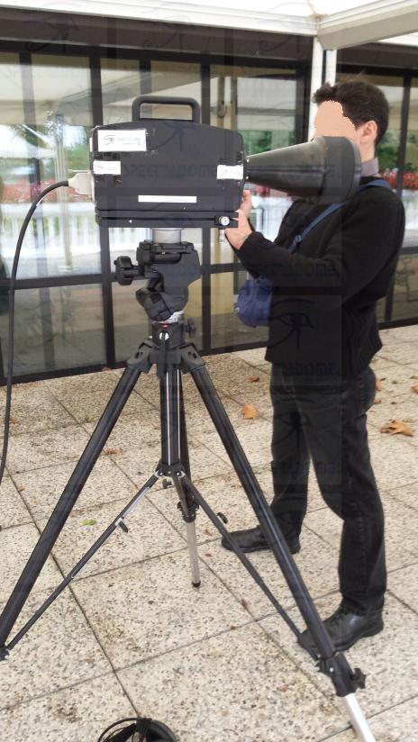 spectradome Single beam Laser audio surveillance system