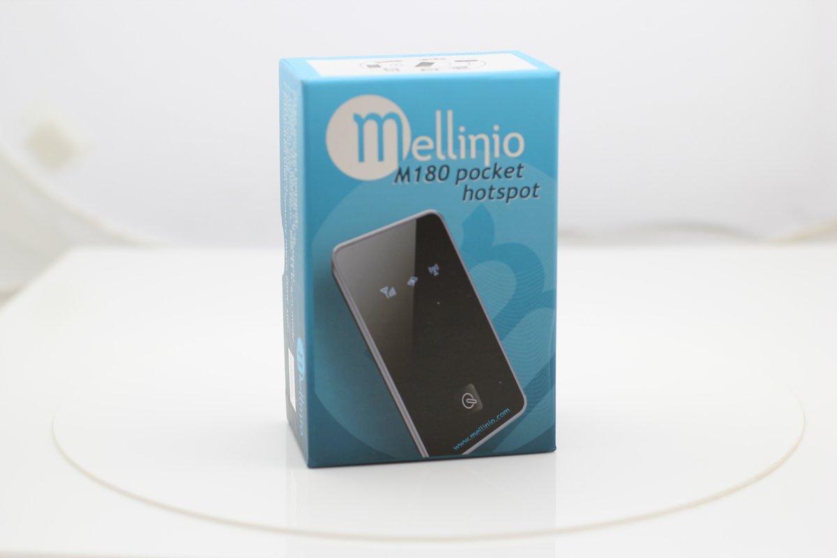 Mellinio M180 3G Modem en Mobiele WiFi Pocket Hotspot
