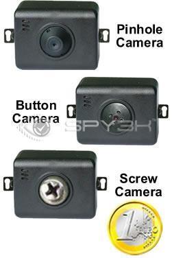 Extra Bedrade Mini Bewakingscamera